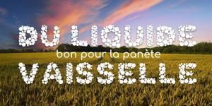 Read more about the article Du liquide vaisselle bon pour la panète