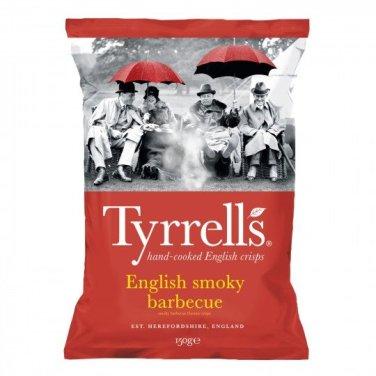 Chips English smoky barbecue, Tyrrells