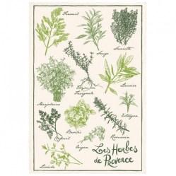 Torchon Les Herbes de Provence, Camif