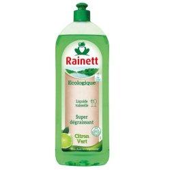 Liquide vaisselle dégraissant, Rainett