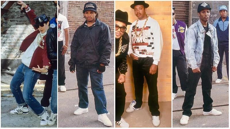 Mode Hip Hop Hommes des années 80