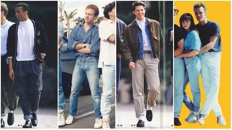 Mode décontractée des années 80