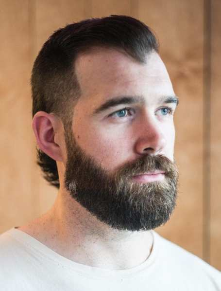 Mulet et la barbe modernes