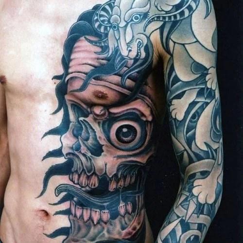 meilleur tatouage poitrine