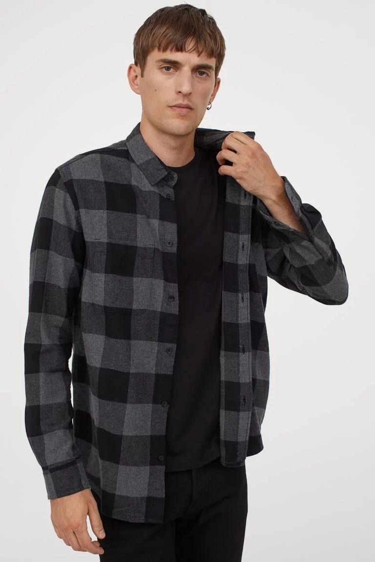 Chemise en flanelle | Avoir un style minimaliste pour Homme