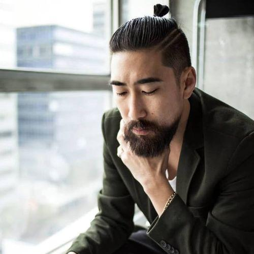 idées de coupes et coiffures pour Homme Asiatique 15