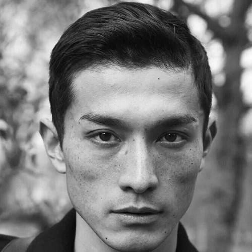 idées de coupes et coiffures pour Homme Asiatique 4