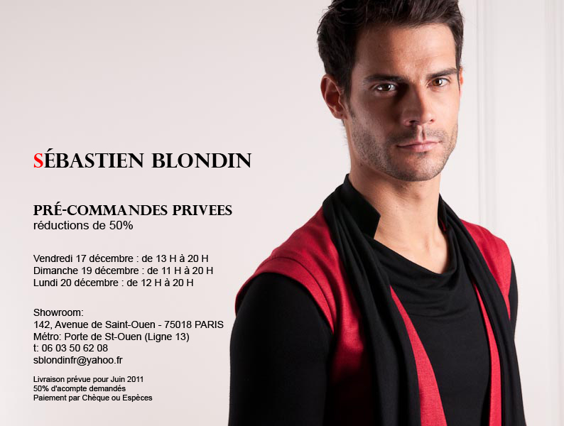 sébastien blondin INVITATION PARIS 5