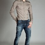chemise style militaire Energie