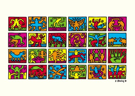 RETROSPECTIVEMENT KEITH HARING