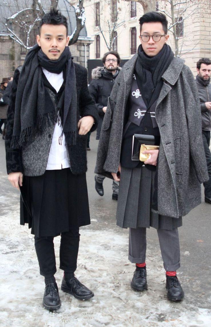 hommes en jupe men in skirt