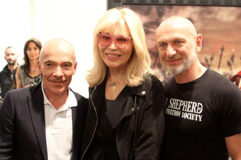 Pierre gilles et Amada Lear
