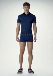 versace boxer bleu