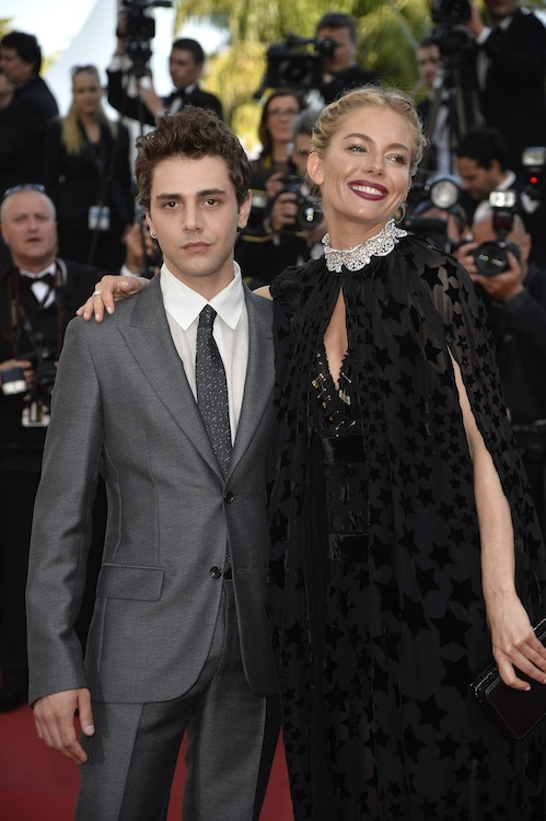 """CANNES, FRANCE - MAY 17: Xavier Dolan and Sienna Miller attend the Premiere of """"Carol"""" during the 68th annual Cannes Film Festival on May 17, 2015 in Cannes, France.  (Photo by Pascal Le Segretain/Getty Images)"""