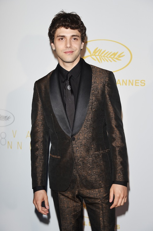 CANNES, FRANCE - MAY 13:  Xavier Dolan attends the opening ceremony dinner during the 68th annual Cannes Film Festival on May 13, 2015 in Cannes, France.  (Photo by Venturelli/WireImage)