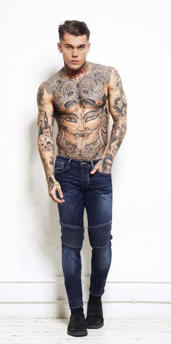 japan rag mannequin torse nu