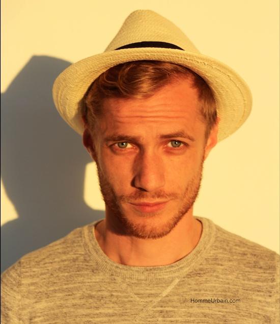 yann chapeau sweater gris blog mode homme