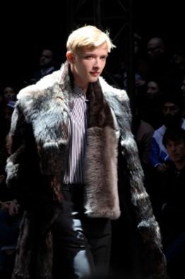 paul smith manteau homme fourure