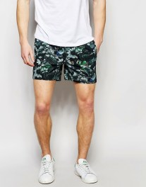 asos short tropical