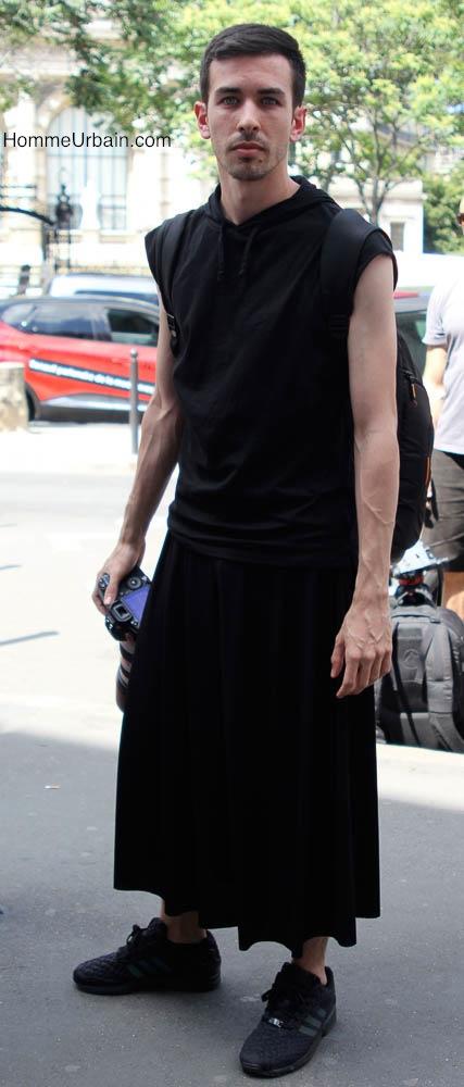 longue jupe homme