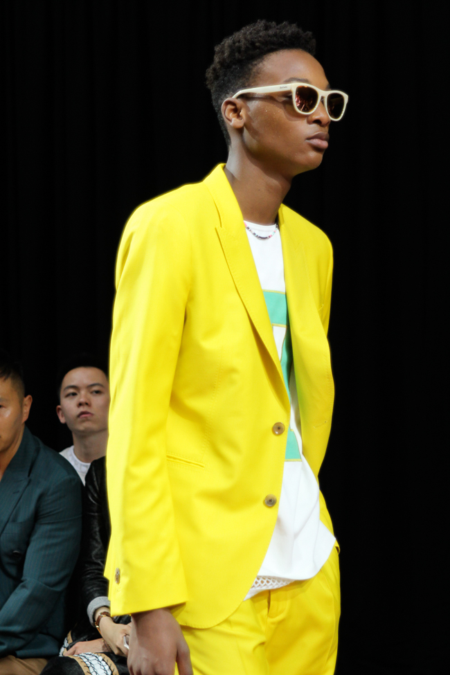 Paul Smith costume jaune