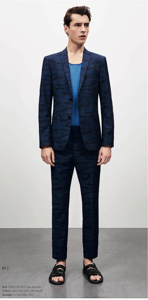 Strellson costume bleu