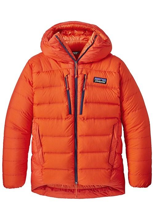 doudoune homme orange