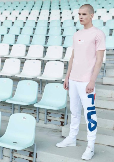 T-shirt homme rose
