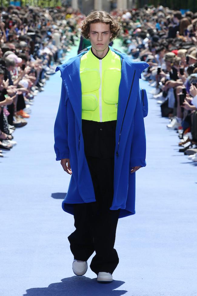 Louis Vuitton homme été 2019 fluo