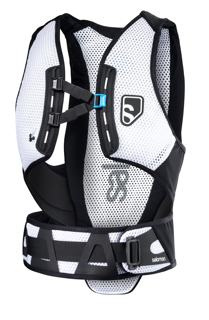 salomon FLEXCELL_MEN_black_white_front_lo_60190