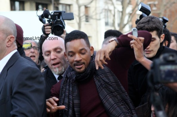 Will Smith a Paris bouscule