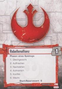 Star Wars Kartenspiel - Startkarte