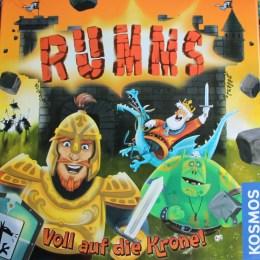 Rumms - Spieleverpackung