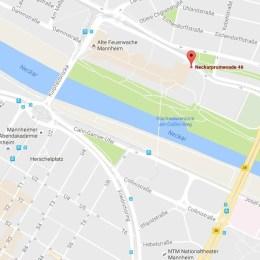 Weg zur Veranstaltung Mannheim spielt im Jugendkulturzentrum Forum