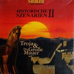 Das Cover des Spiels Siedler von Catan - Historische Szenarien II