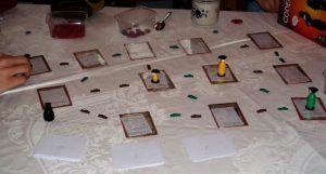 Spielaufbau des Spiels The Last Spies