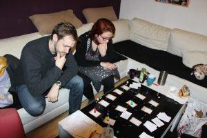 Testspieler beim Spielen von The Last Spies