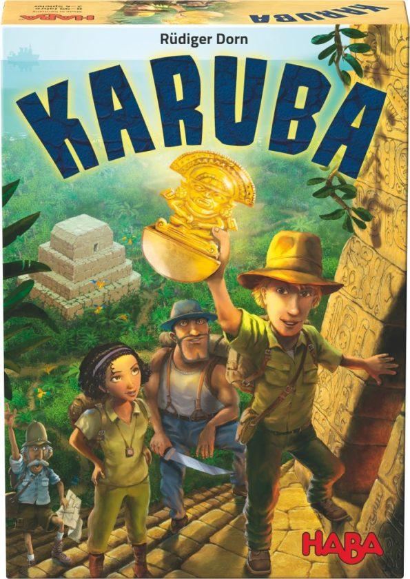 Cover von Karuba: Abenteurer erklimmen eine Pyramide und bergen einen Schatz