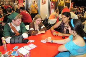 Gruppe beim Spielen von Candy Match aus dem Hause Pegasus