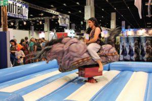 Aladdin auf einem Behemoth aus Final Fantasy