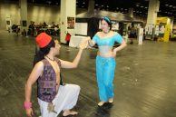 Aladdin bittet um Jasmins Hand