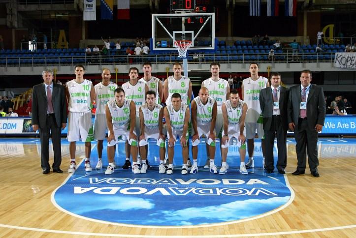 BASKETBALL/EURO 2005/BOSNIA-HERZEGOVINA VS SLOVENIA