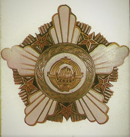 038 the order of the republic with a bronze crown