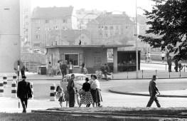 Kiosk na Glavnem trgu leta 1961