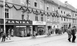 Na Glavnem trgu leta 1960