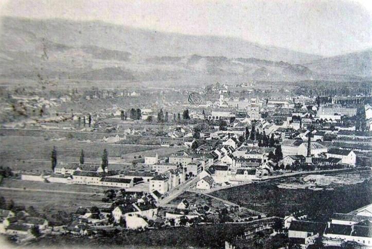 Pogled na Melje leta 1898
