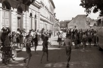 Na Slomškovem trgu leta 1958