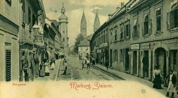 Slovenska ulica - nekdaj