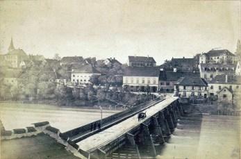 Leseni most -pogled proti jugu