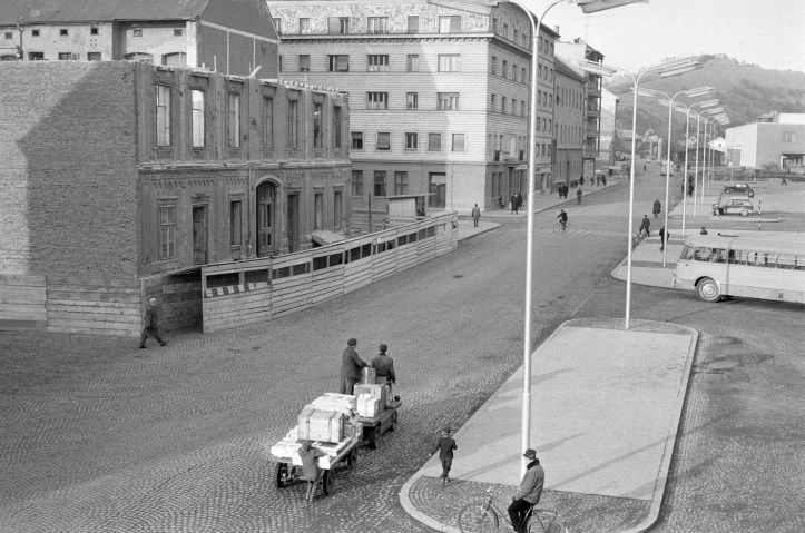 Partizanska_cesta_v_Mariboru_1963